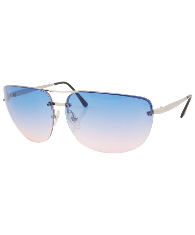 ociffer blue pink sunglasses