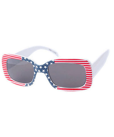 old glory red white blue sunglasses