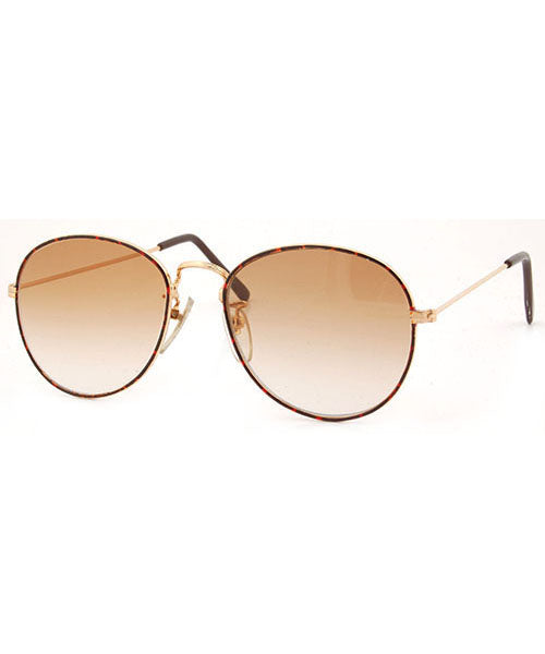 onion gold brown sunglasses