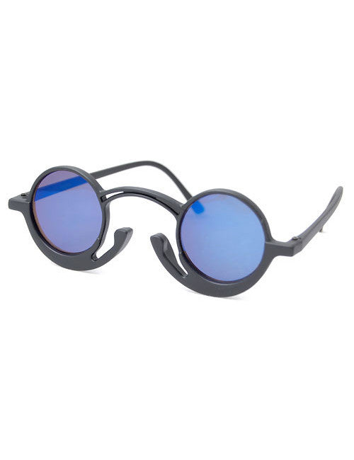 orson black blue sunglasses