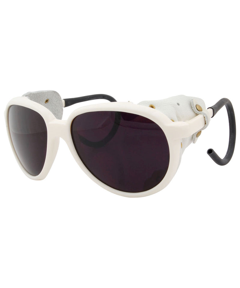 orvil white sunglasses