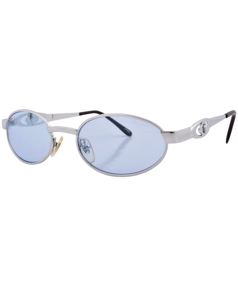 overt blue silver sunglasses