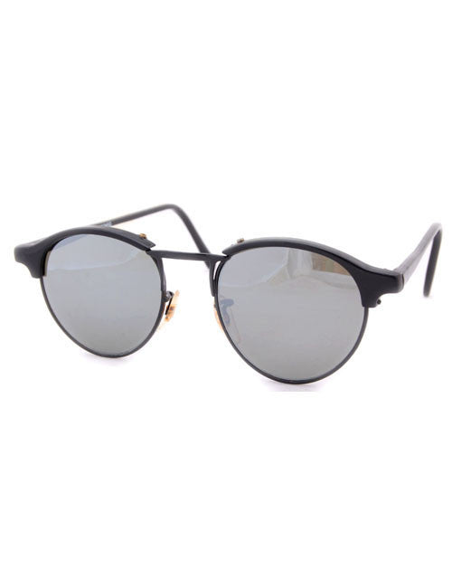 oxford black black sunglasses