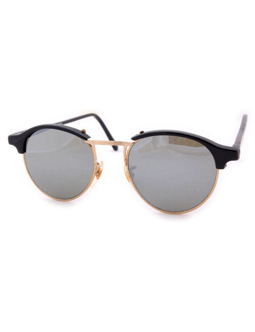 oxford black gold sunglasses
