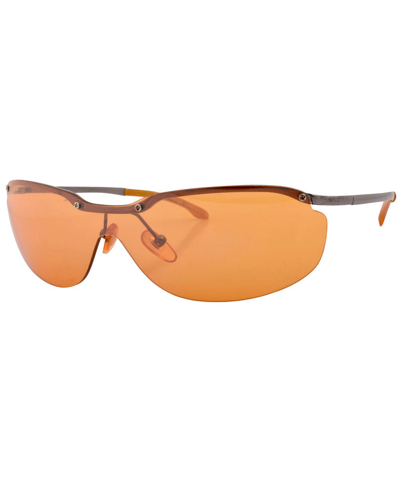 oxygen orange sunglasses