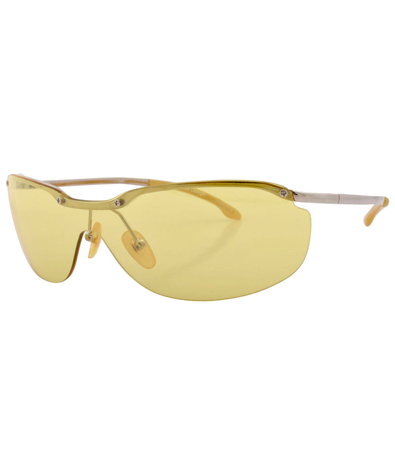 oxygen yellow sunglasses