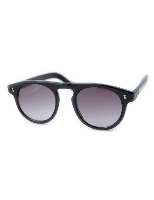 sepia gloss black sunglasses