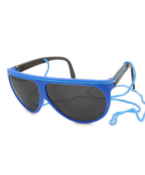FLUOROPA Blue 90s Beach Sunglasses