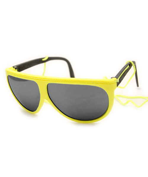 FLUOROPA Yellow 90s Sunglasses
