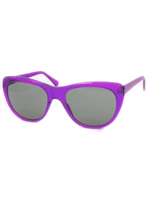 charming purple sunglasses