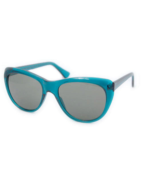 charming teal sunglasses