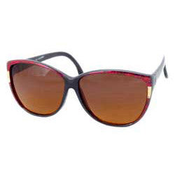 simone red sunglasses