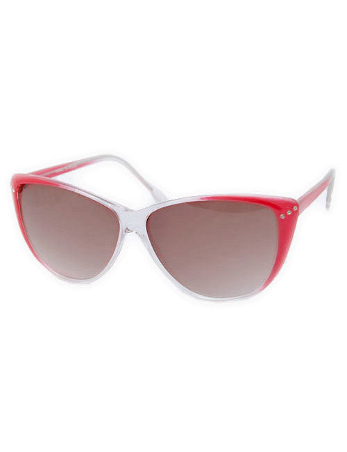 peeka crystal red sunglasses