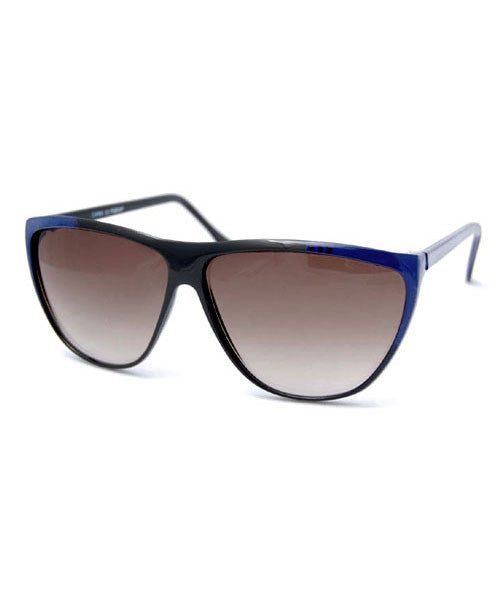 peeka black blue sunglasses