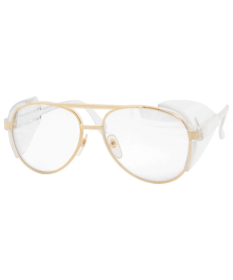 pacer gold sunglasses
