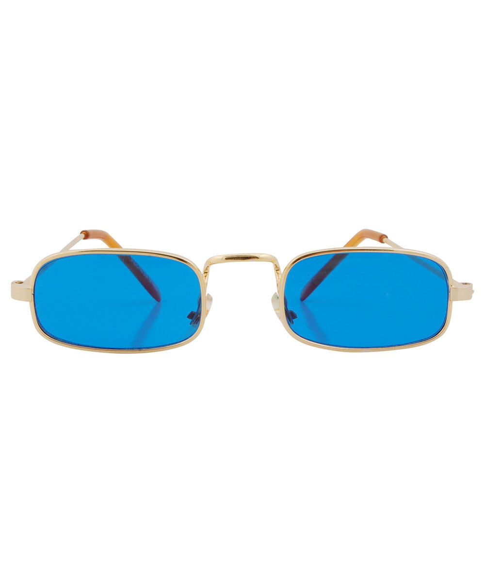 6c16578ba6 PADDY blue. paddy blue gold sunglasses