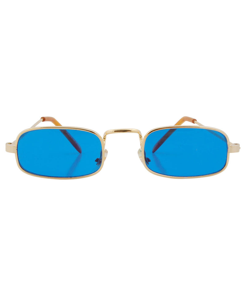 paddy blue gold sunglasses