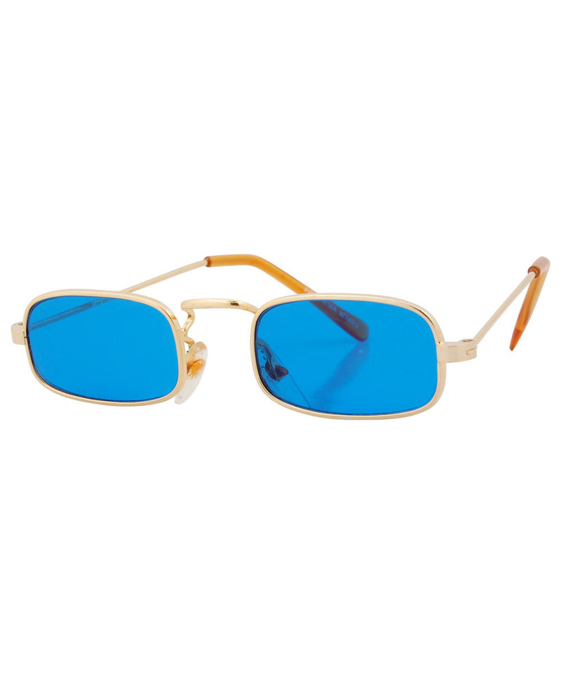 PADDY Blue Square Sunglasses