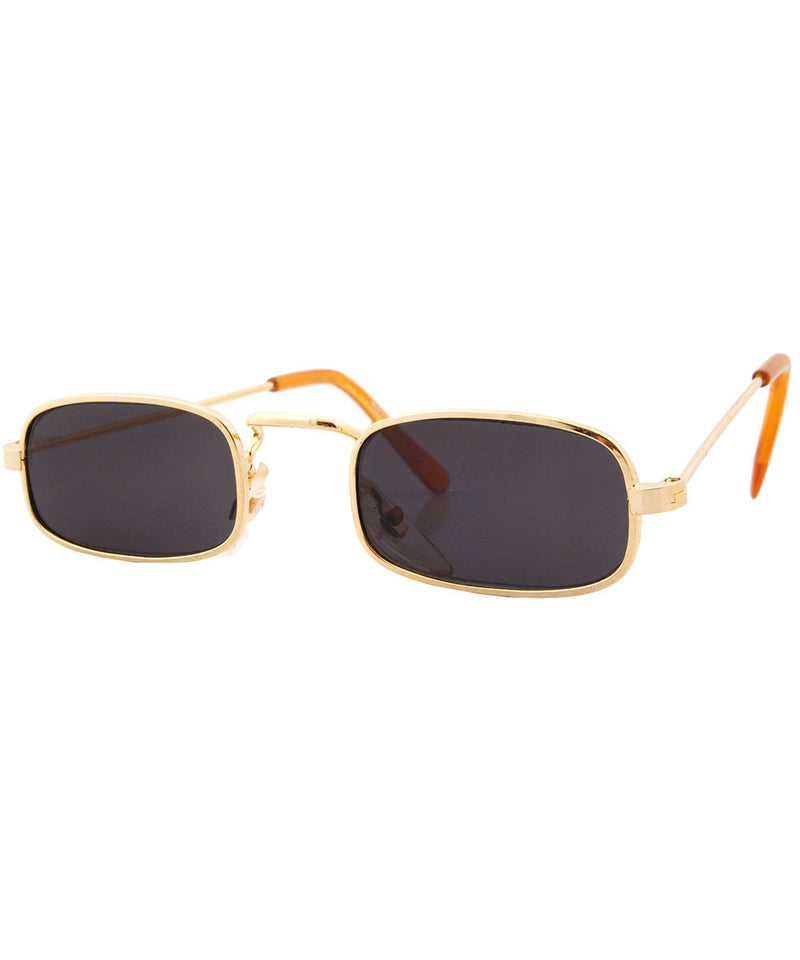 paddy gold smoke sunglasses