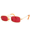 paddy red sunglasses