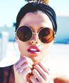 pancakes gold brown sunglasses