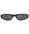 panic black sunglasses