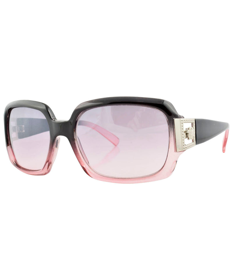 pan black pink sunglasses