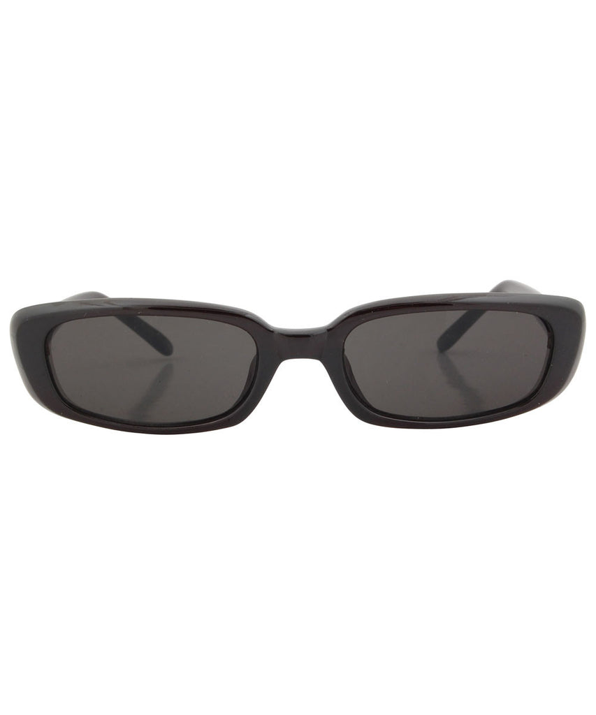par tease black sunglasses