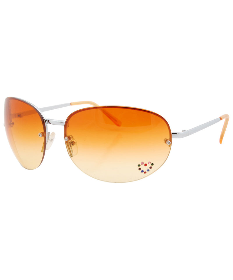 paris amber sunglasses