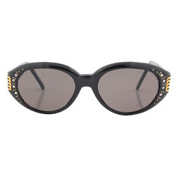 pasha black sunglasses