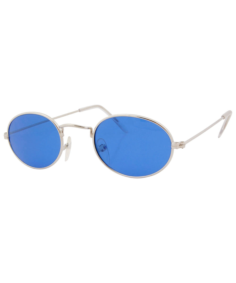 payola blue silver sunglasses