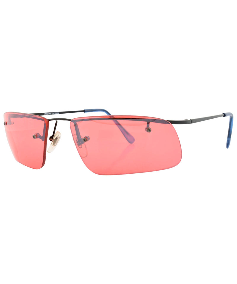 pecker red sunglasses