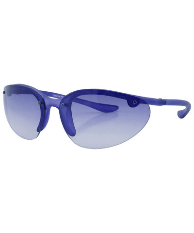 PEPPERS Blue Rimless Sunglasses