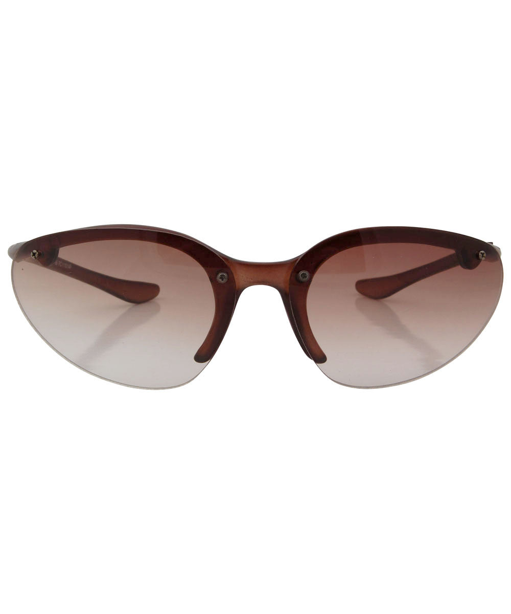 ee38ffb3ea peppers brown sunglasses