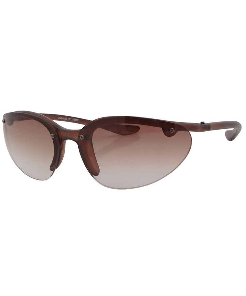 peppers brown sunglasses