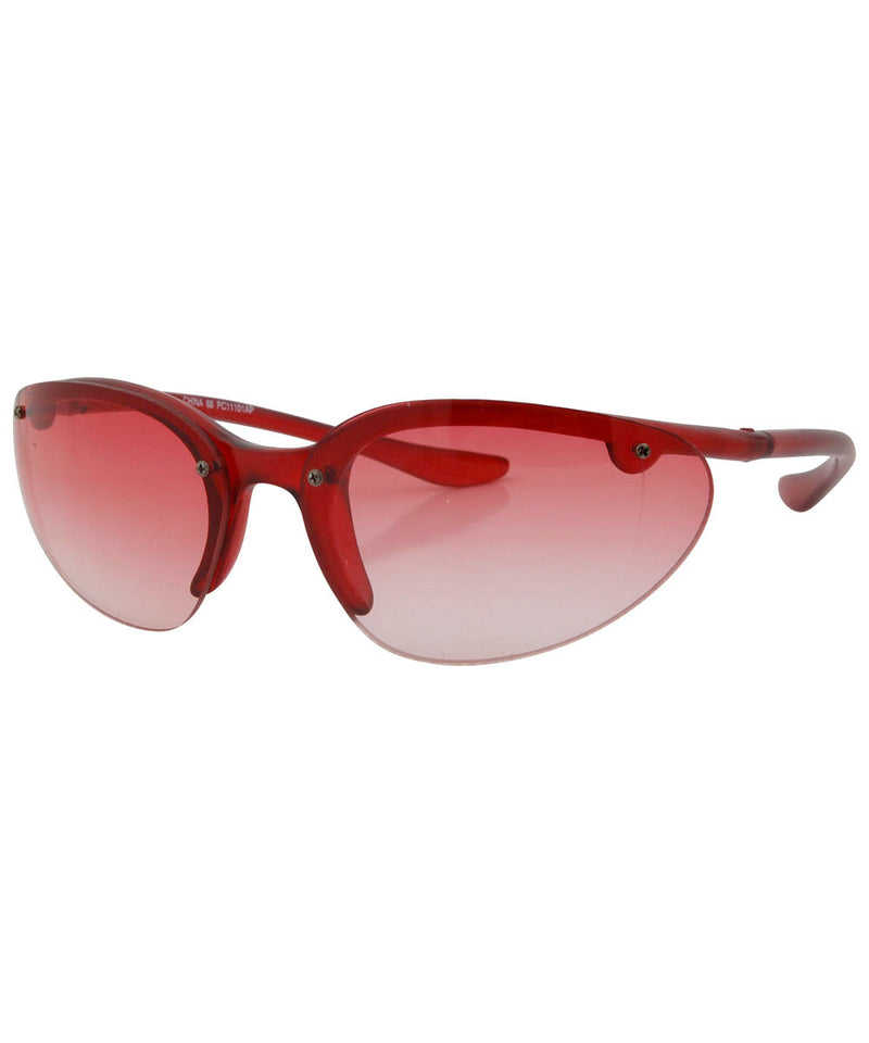 peppers red sunglasses