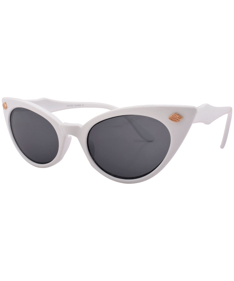 peps white sunglasses
