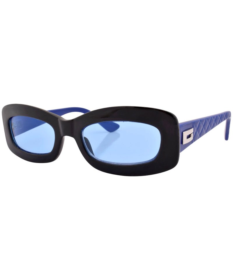 phoner black blue sunglasses