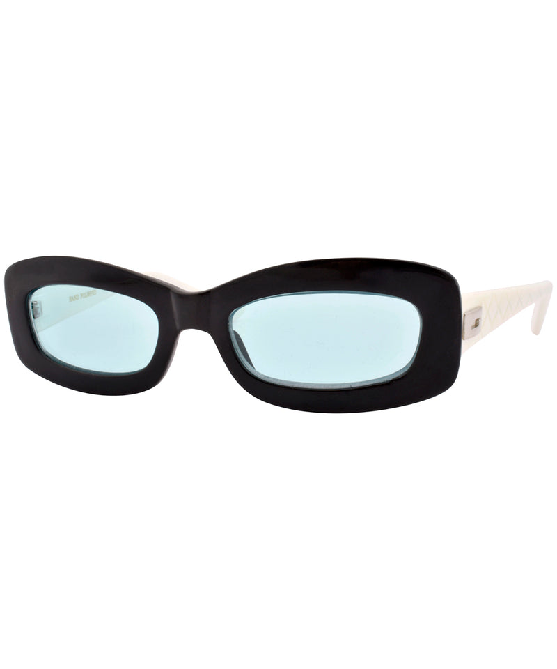 phoner black green sunglasses