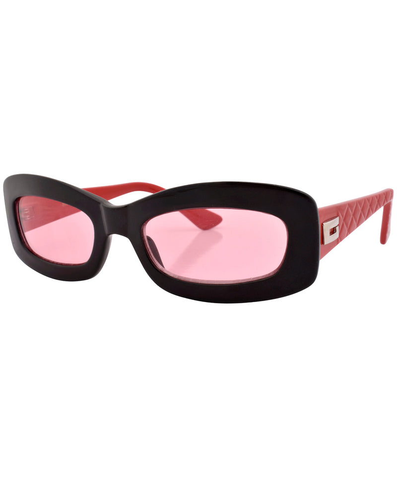 phoner black pink sunglasses