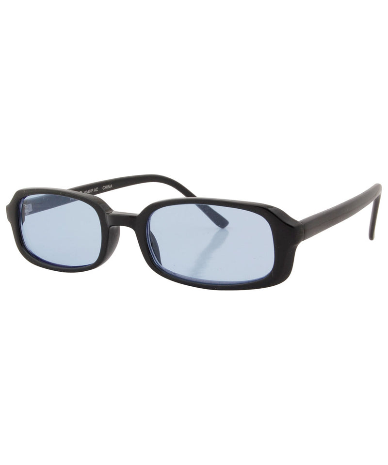 pines black blue sunglasses