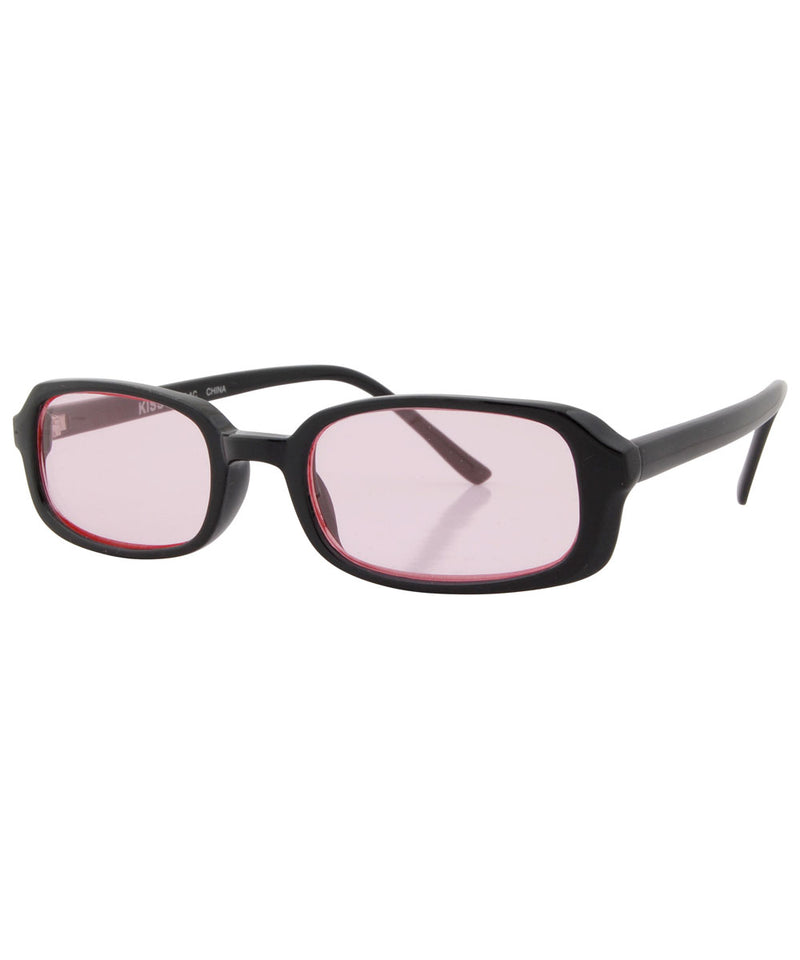 pines black pink sunglasses