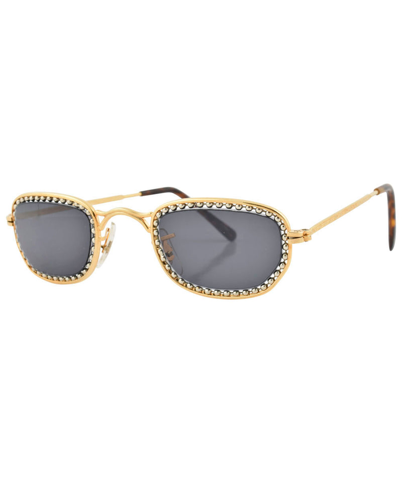 pistola gold silver sunglasses