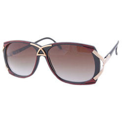 pizazz black red sunglasses