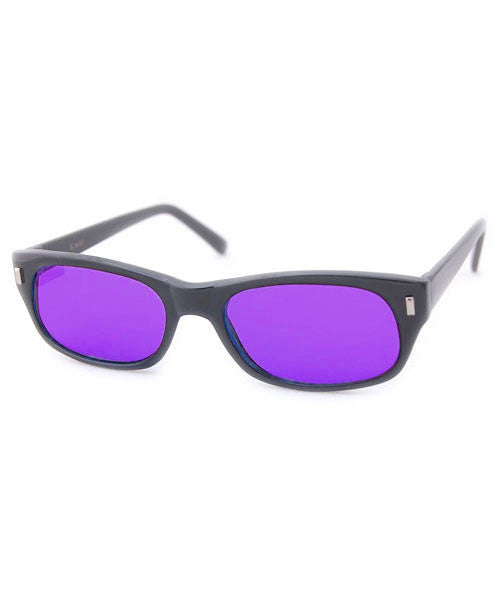 planets black purple sunglasses