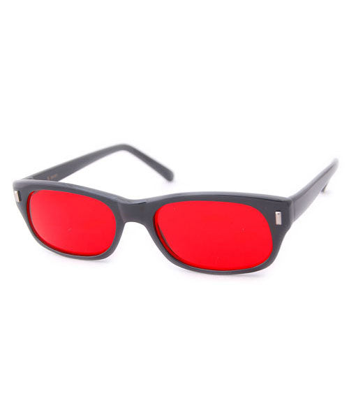 planets black red sunglasses