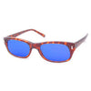 planets demi blue sunglasses