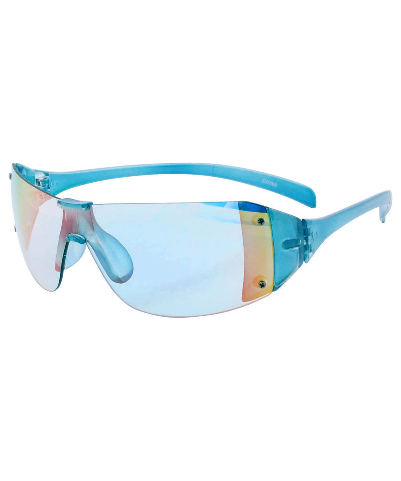 plastics blue sunglasses