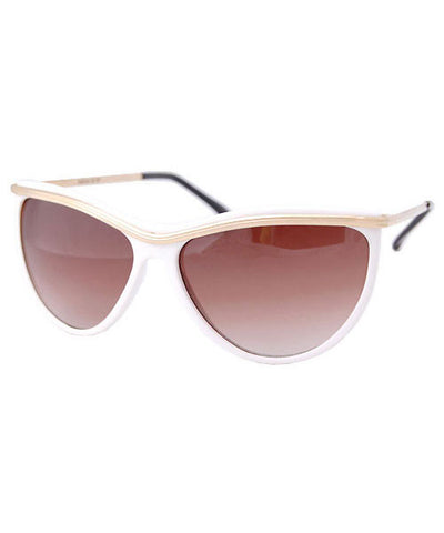 pleasure park white sunglasses
