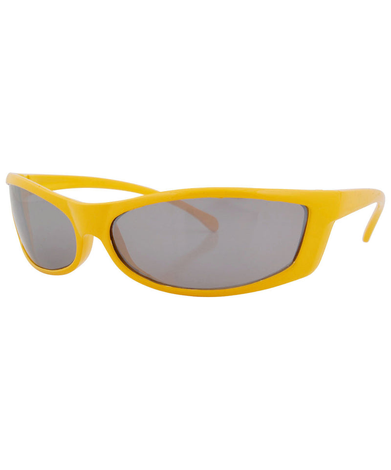 pleazer yellow sunglasses